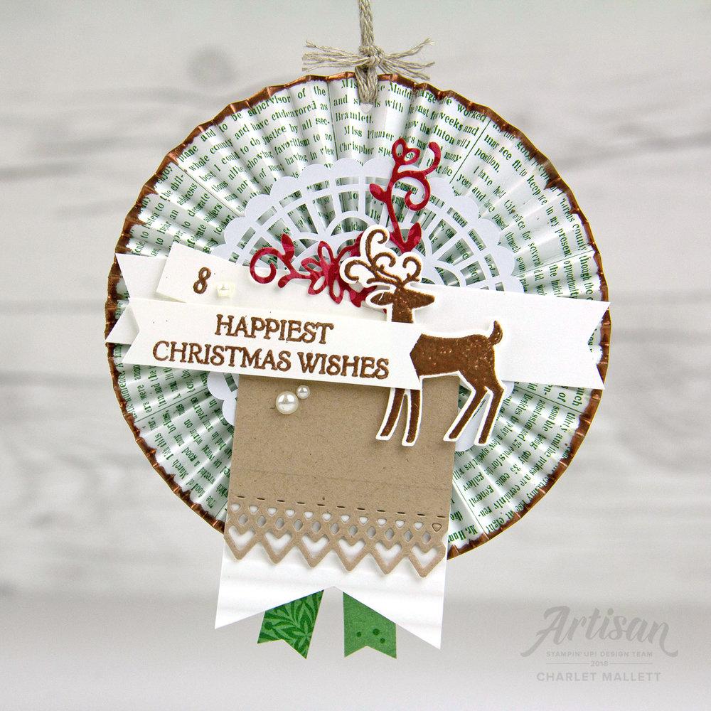 Dashing Deer &Dashing Along papers #8 - Charlet Mallett, Stampin' Up!
