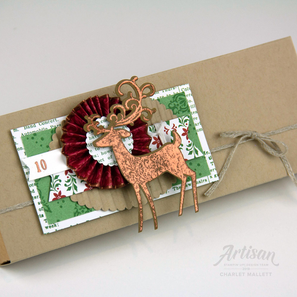 Dashing Deer &Dashing Along papers #10 - Charlet Mallett, Stampin' Up!