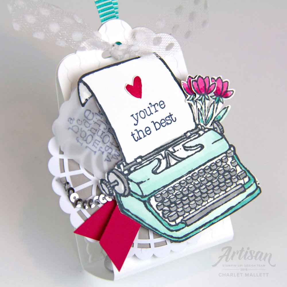 P.S. You're the Best Tag Bag, Charlet Mallett - Stampin' Up!