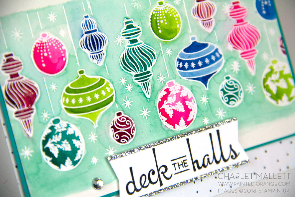 Beautiful Baubles - Charlet Mallett, Stampin' Up!