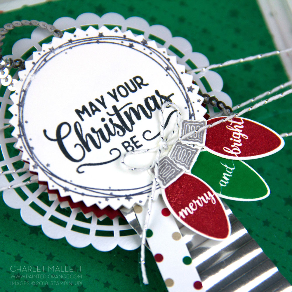 Making Christmas Bright - Charlet Mallett, Stampin' Up!
