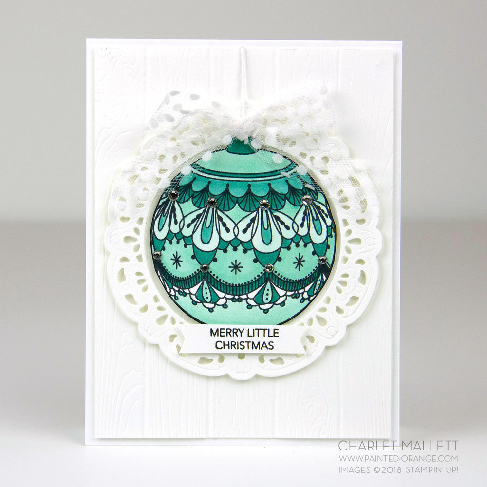 Beautiful Baubles - Charlet Mallett - Stampin' Up!