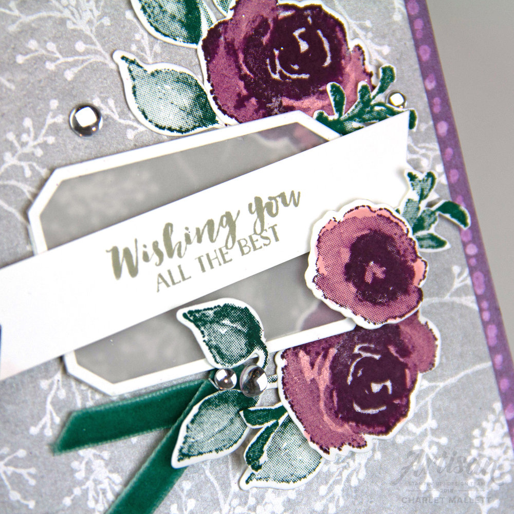 First Frost new year card, Wishing You the Best - Charlet Mallett, Stampin' Up!