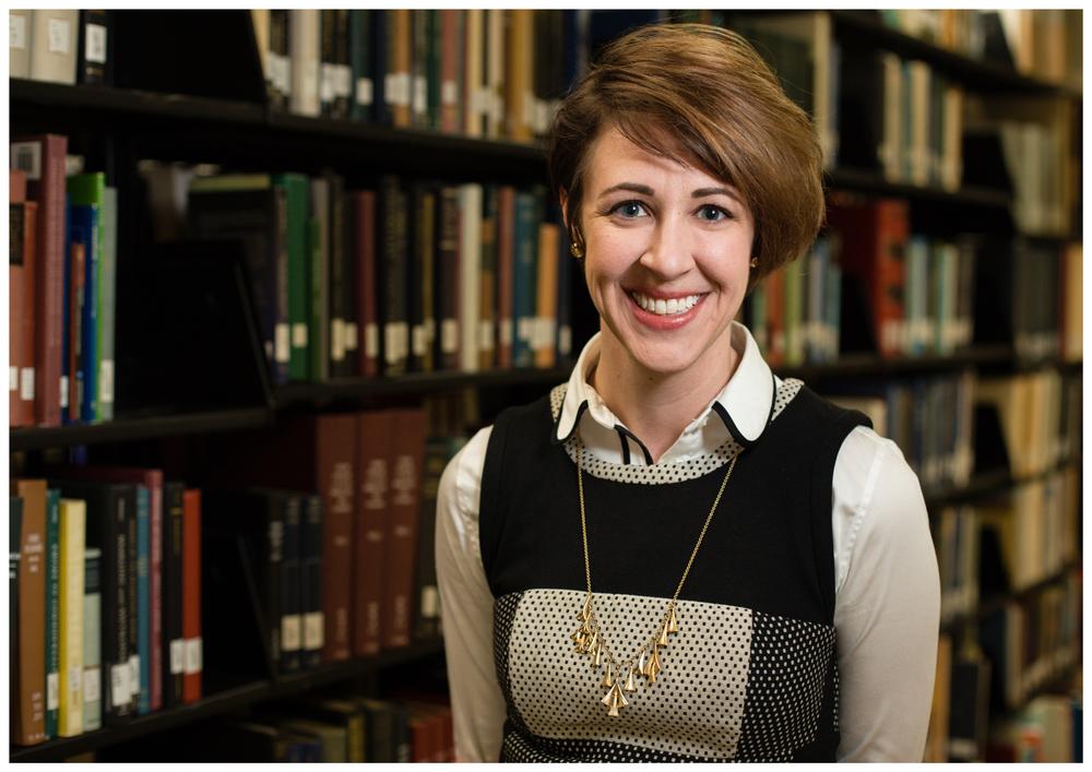 College professor and author headshot