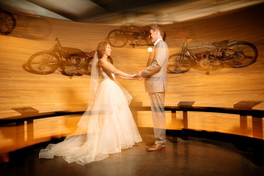 Renee And Ben S Harley Davidson Museum Wedding 414 Photography