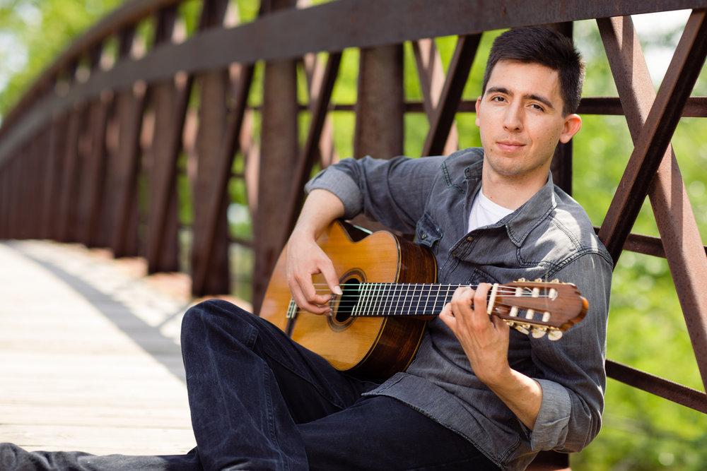 Musician portrait photography
