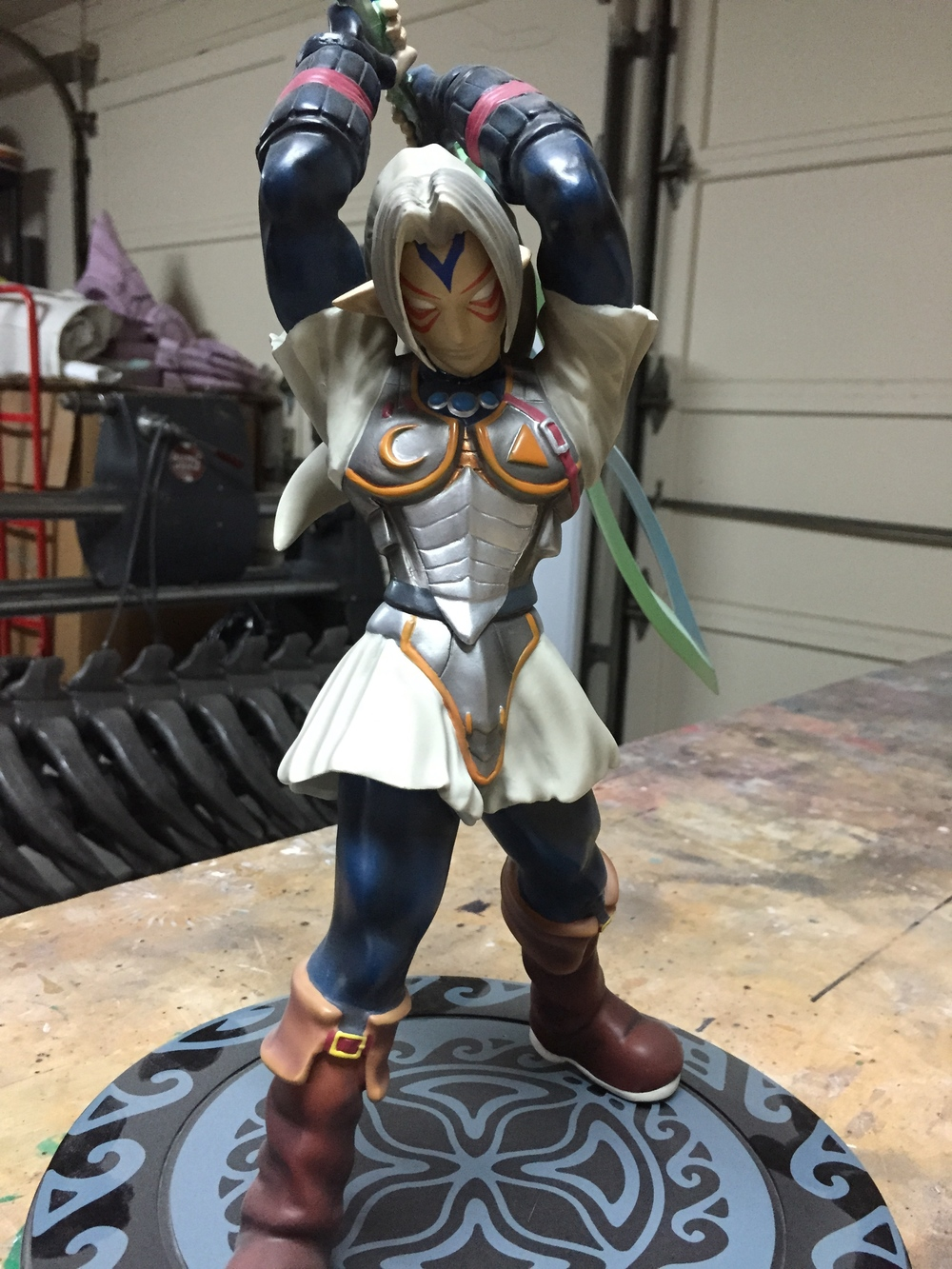 Link official statue