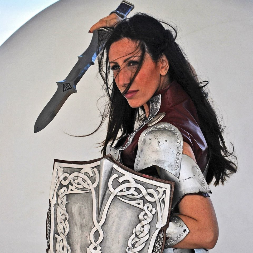 Itis Melusina as Lady Sif