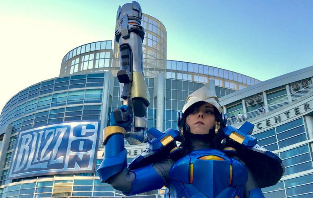 Pharah by:  Arms, Armor and Awesome