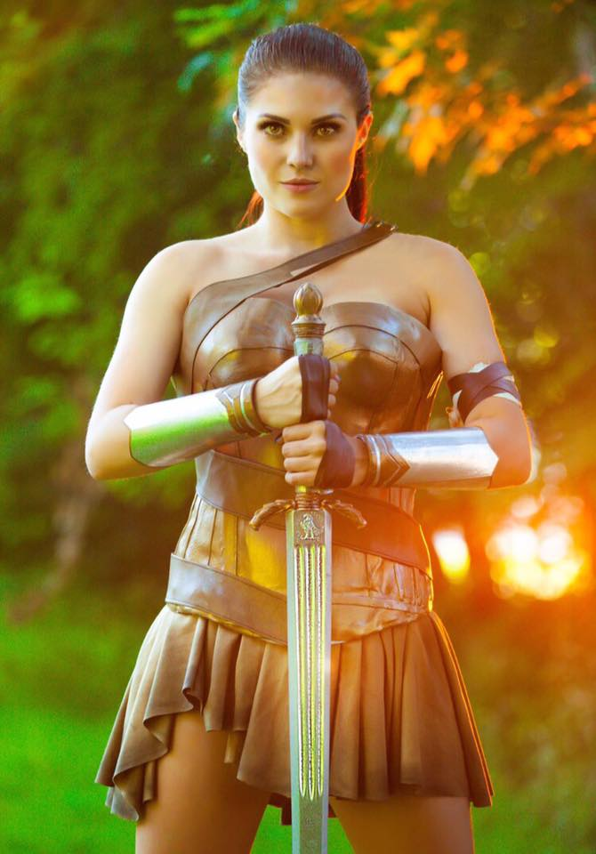 Karli Woods as Diana of Themyscira