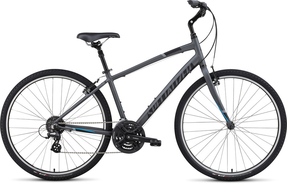 Whether you need a bike to help you stay fit and active, or you just want something comfortable to get around town on, we have a hybrid bike that's tailor made for however and wherever you ride. - specialized crossroads