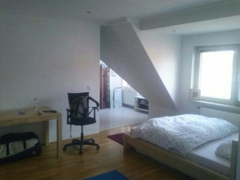 re-vamp homestaging - Dachgeschosswohnung - Vorher
