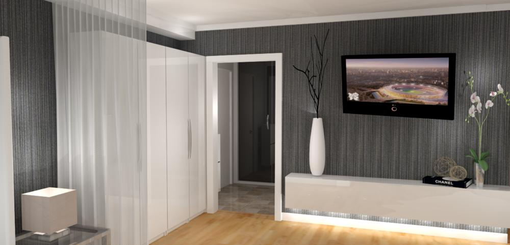 re-vamp homestaging - Dachgeschosswohnung - 3D Skizzen