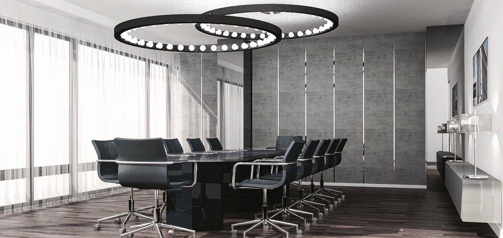 re-vamp Büro Design Potsdamer Platz Konzept Konferenzraum