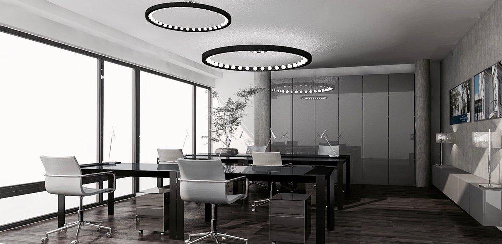 re-vamp Büro Design Potsdamer Platz Konzept Großraumbüro