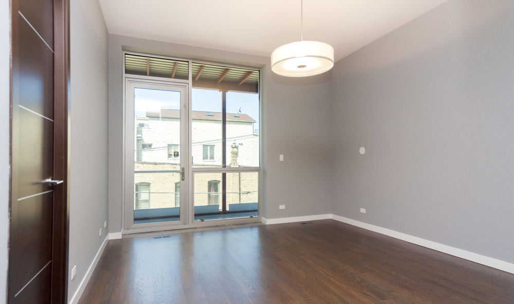 1000 North Damen Chicago Illinois Interior Bedroom TARIS Real Estate