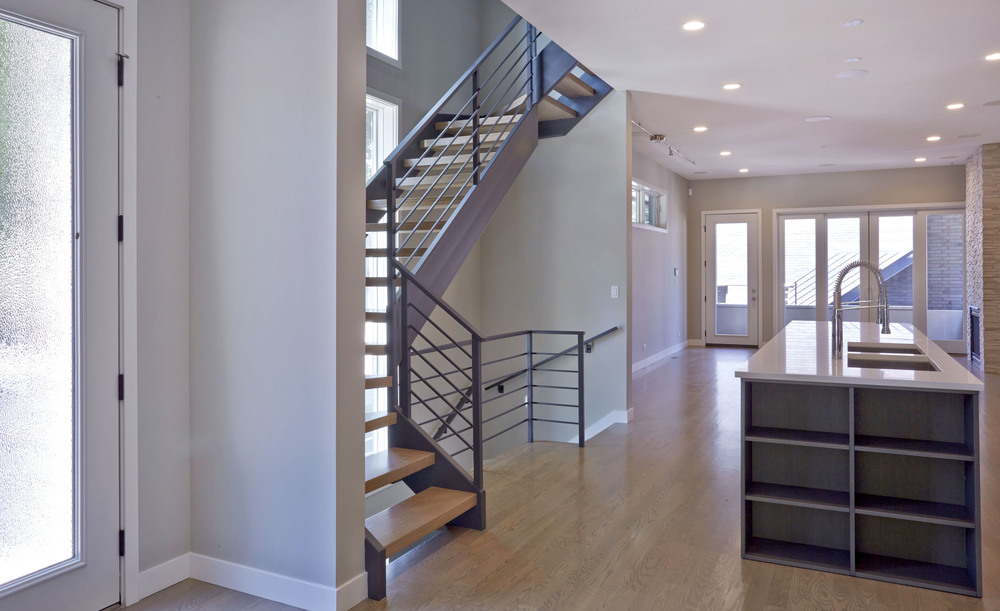 703 North Campbell Chicago Interior Stairs TARIS Real Estate