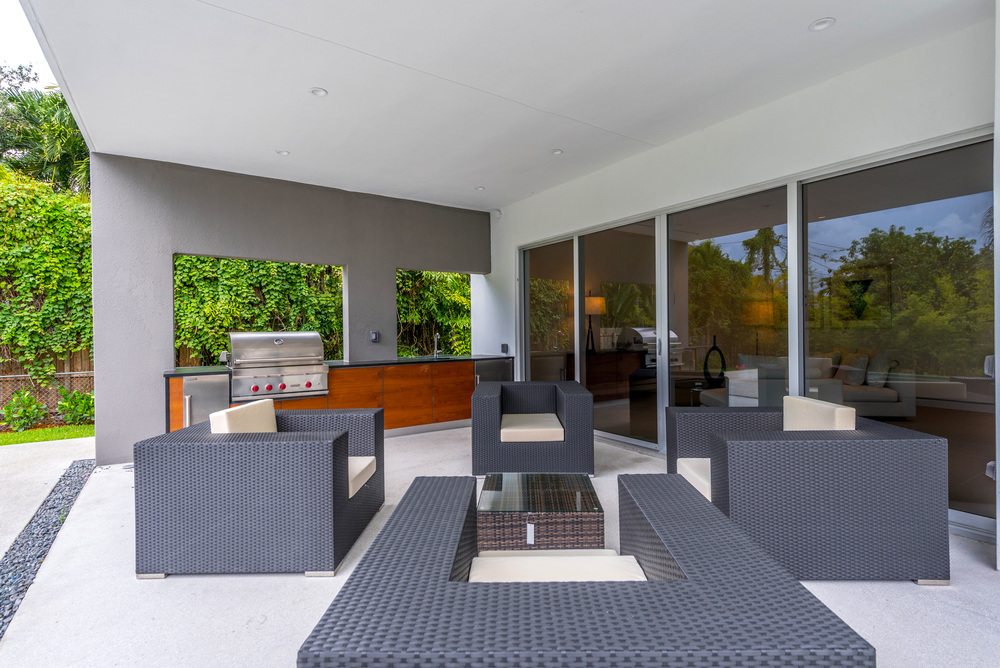 The Setting Homes Plum House Miami Florida Exterior Deck TARIS Real Estate