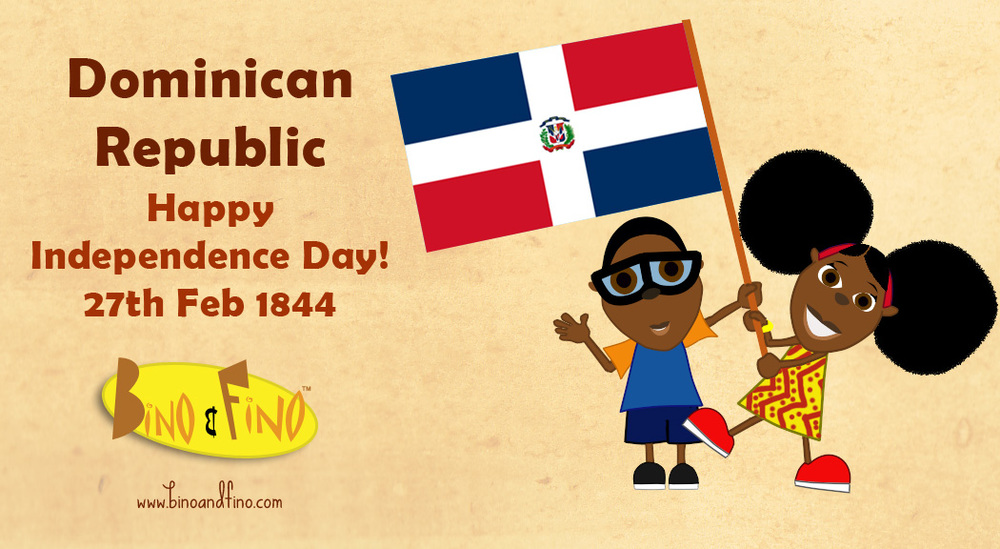 Happy Independence Day Dominican Republic Bino And Fino - Dominican republic independence day