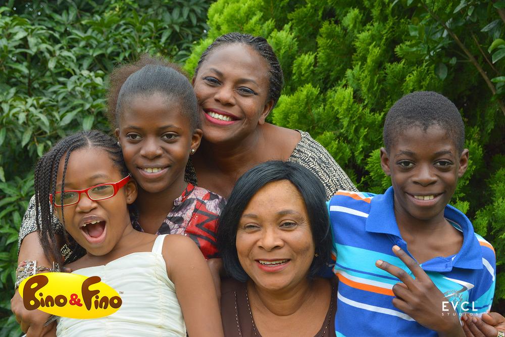 'Fino','Bino','Mum','Mama Mama','Emeka'