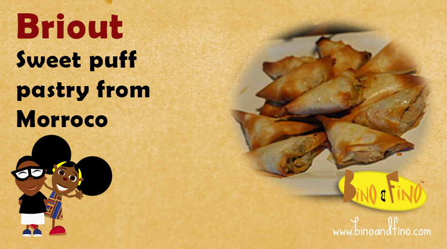 9: Briout – Sweet puff pastry from Morroco