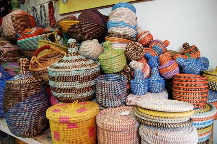 Coil Baskets, Senegal