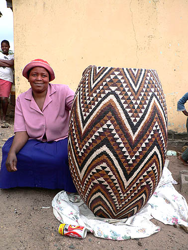 Basket Weaving Tribes : Basket weaving in different african countries bino and