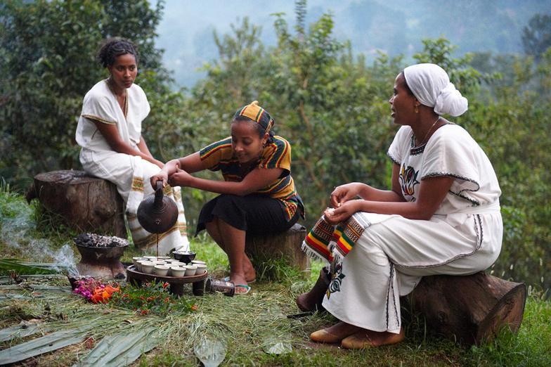 The Coffee Ceremony of Ethiopia & Eritrea — Bino and Fino - African Culture  For Children