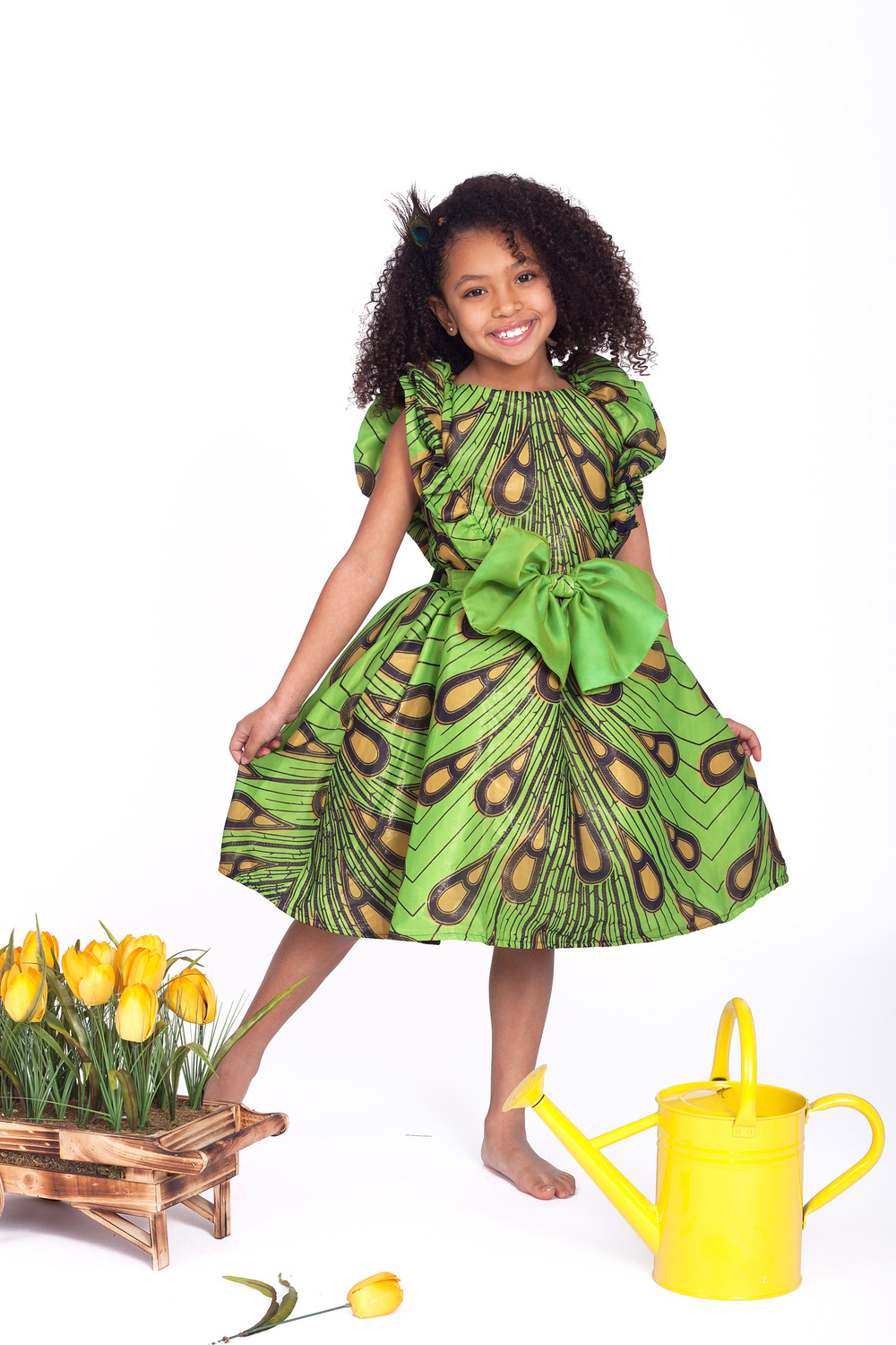 Ankara styles for kids