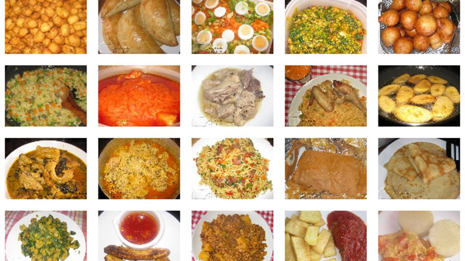 A list of african food blogs websites with recipes for African cuisine menu