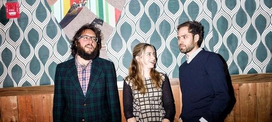 New Amsterdam Founders/Co-Directors (L-R): Judd Greenstein, Sarah Kirkland Snider, William Brittelle | Photo by Adrienne Grunwald