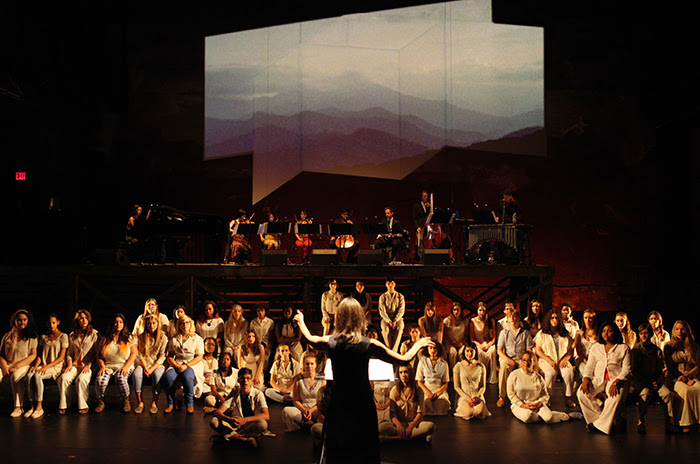 Brooklyn Youth Chorus performing at Brooklyn Academy of Music