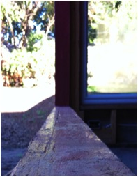 Figure 4: Fluid applied membrane on window sill
