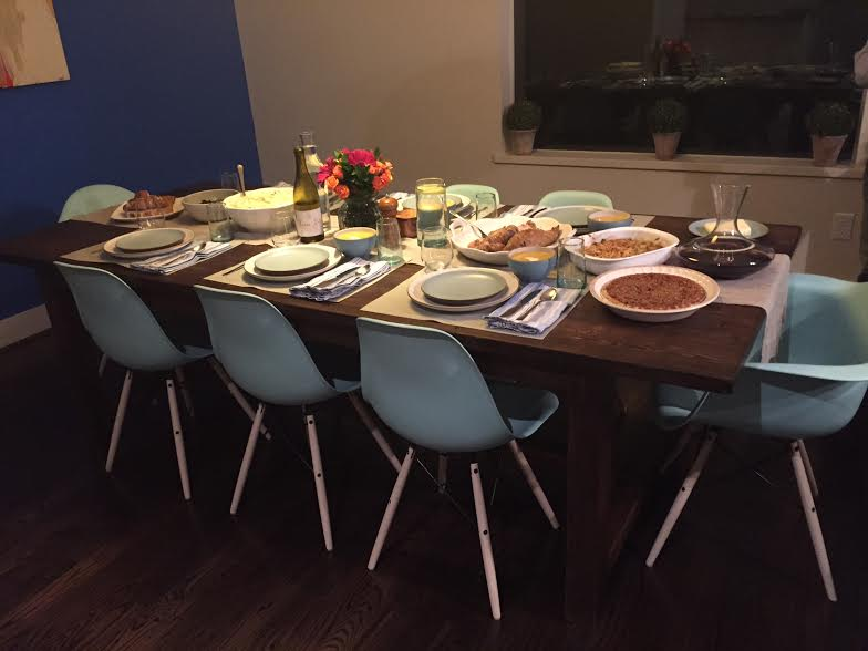 Personal Friendsgiving Table
