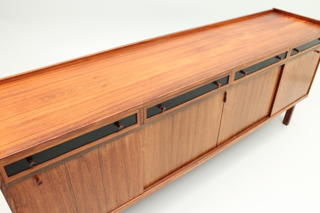 Our very own leather credenza! Like what you see? Click the photo!
