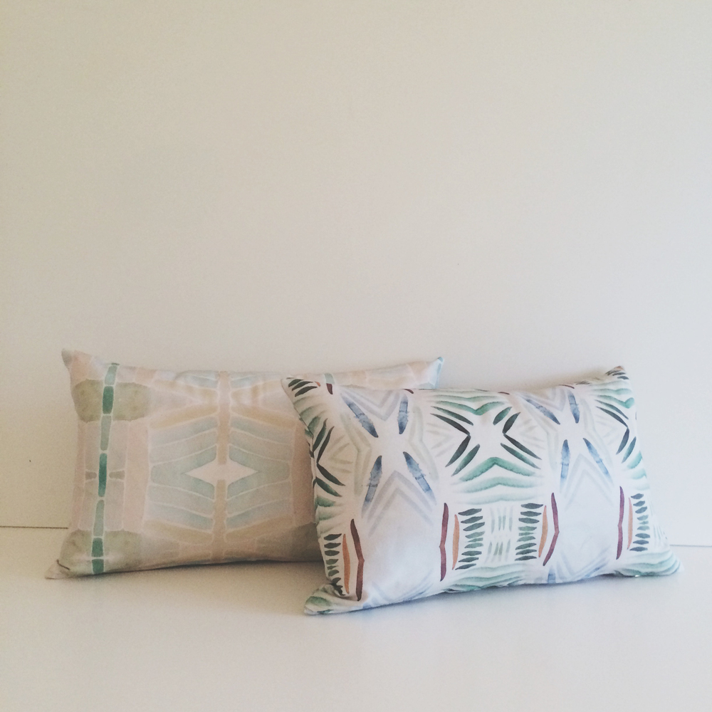 Pillows by Bunglo. Like what you see? Click the photo!