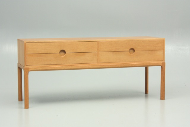 This exceptional Kai Kristiansen commode is still available!