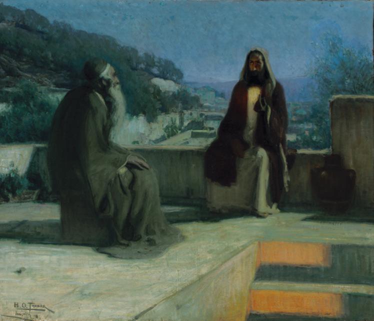 """""""Nicodemus """"Henry Ossawa Tanner (1859–1937)"""