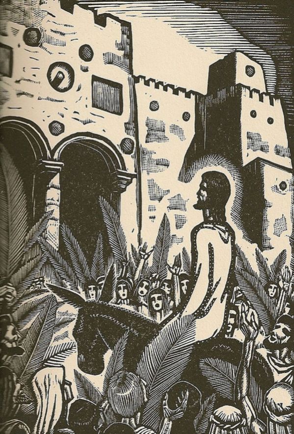 The Life of Christ in Woodcuts by James Reid (1930)