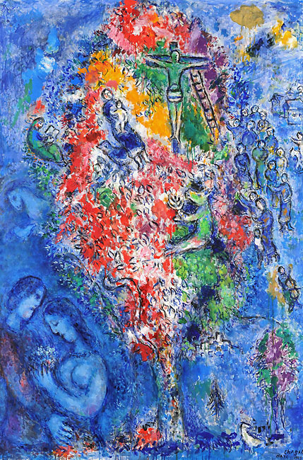 """Jesse Tree"" by Marc Chagall (1975)"