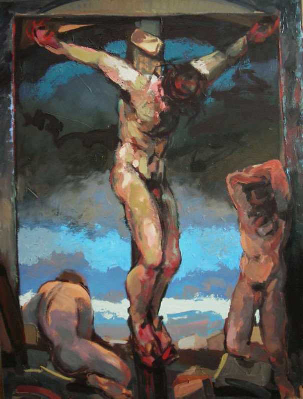 """""""Crucifixion"""", by Edward Knippers (1999)"""