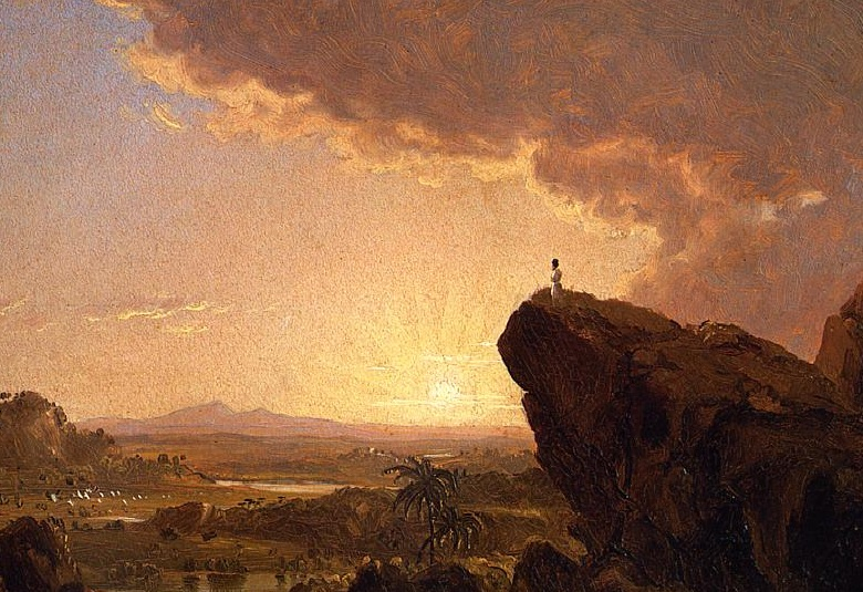 Moses Views the Promised Land by Frederic Edwin Church