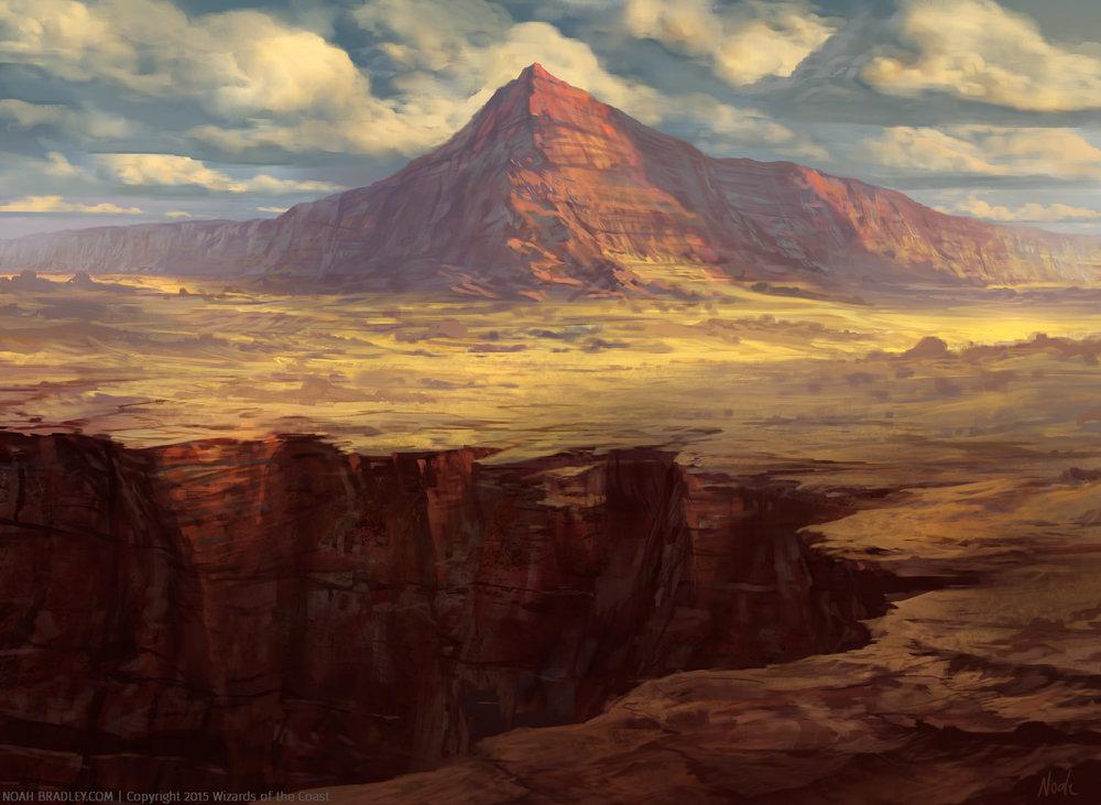 Plateau by Noah Bradley