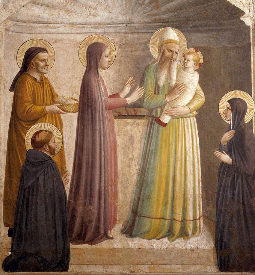 Presentation in the Temple by Fra Angelico (1440)