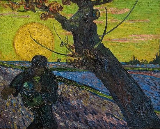 The Sower by Vincent Van Gogh (1888)