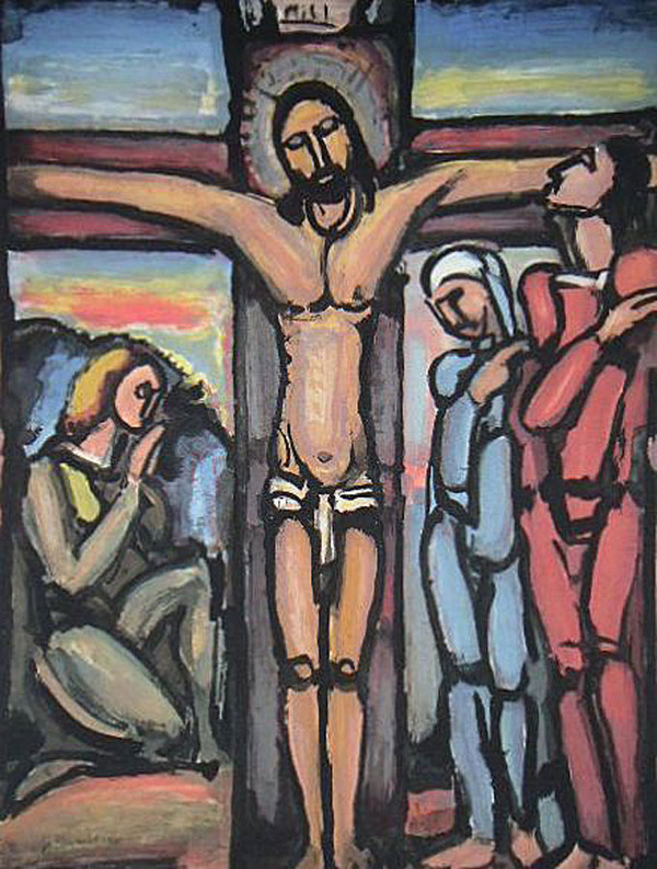 The Crucifixion  by George Rouault