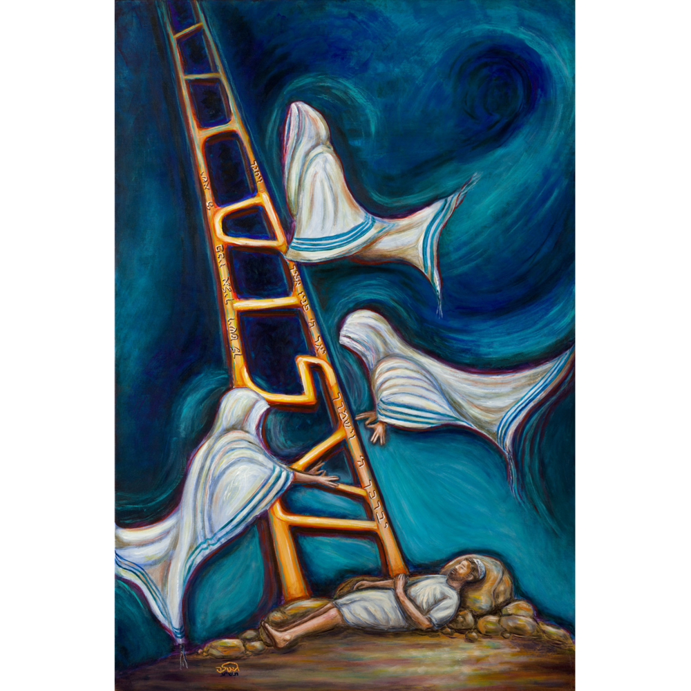 Jacob's Ladder by Geula Twersky