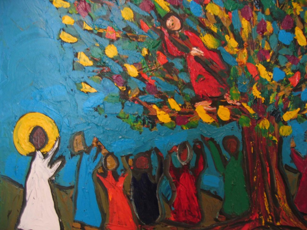 Zacchaeus by Joel Whitehead