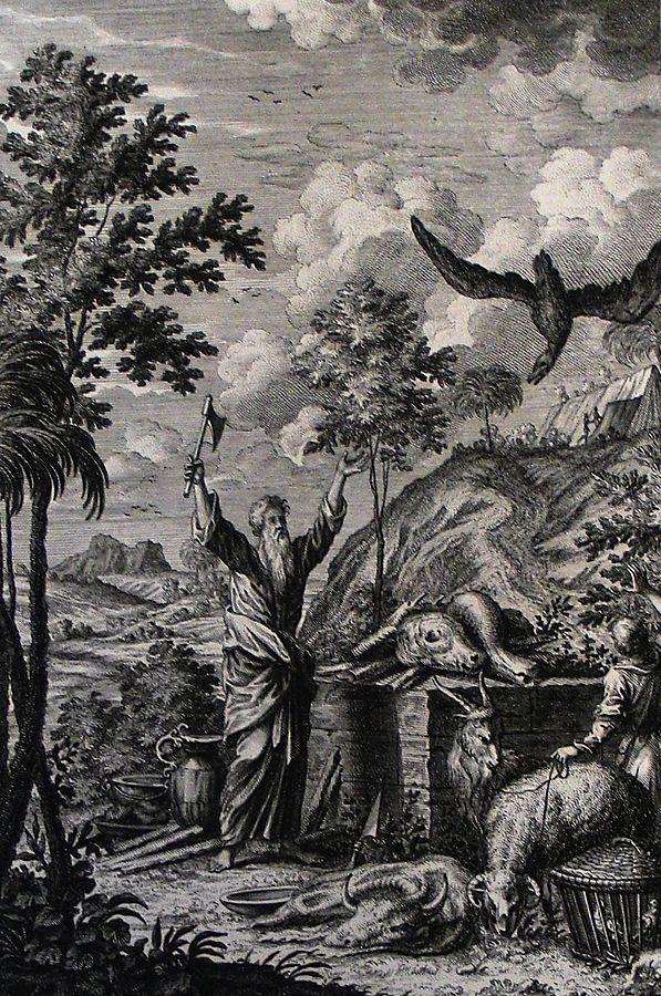 Abraham's Sacrifice, Philip Medhurst Bible