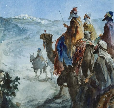 The Wise Men by Henry Collier
